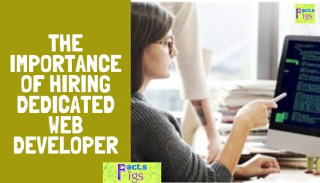 The Importance of Hiring Dedicated Web Developer