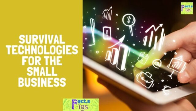 SURVIVAL TECHNOLOGIES FOR THE SMALL BUSINESS 1