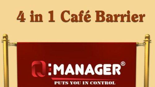4 in 1 Café Barrier