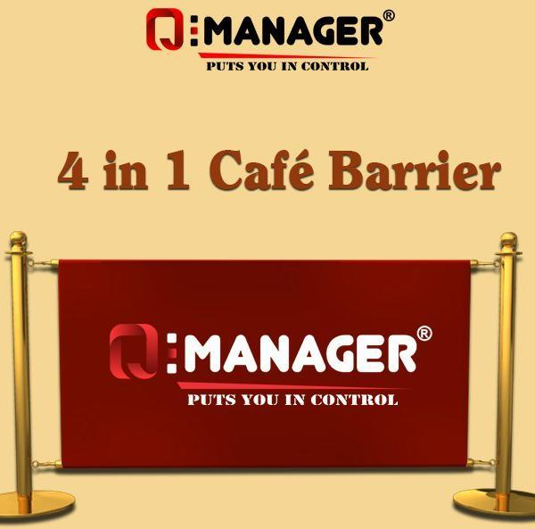 4 in 1 Café Barrier
