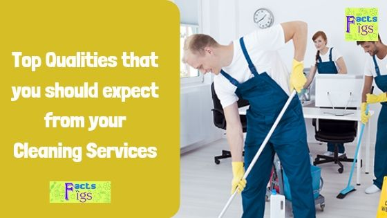 Top Qualities that you should expect from your Cleaning Services 1