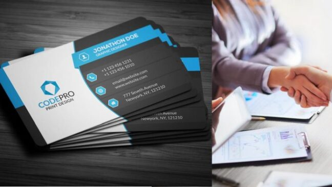 5 Critical points to enhance your business card potential 1