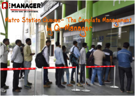 Metro Station Queues- The Complete Management by