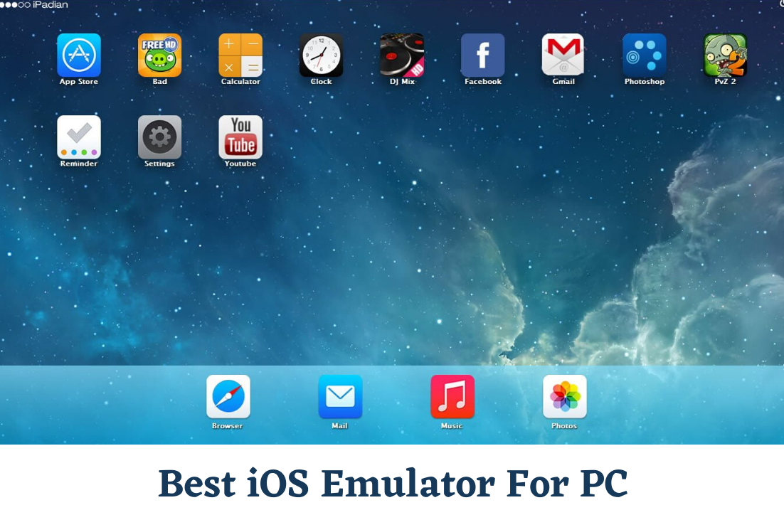 10 Best iOS Emulators For PC (Tested Guide)