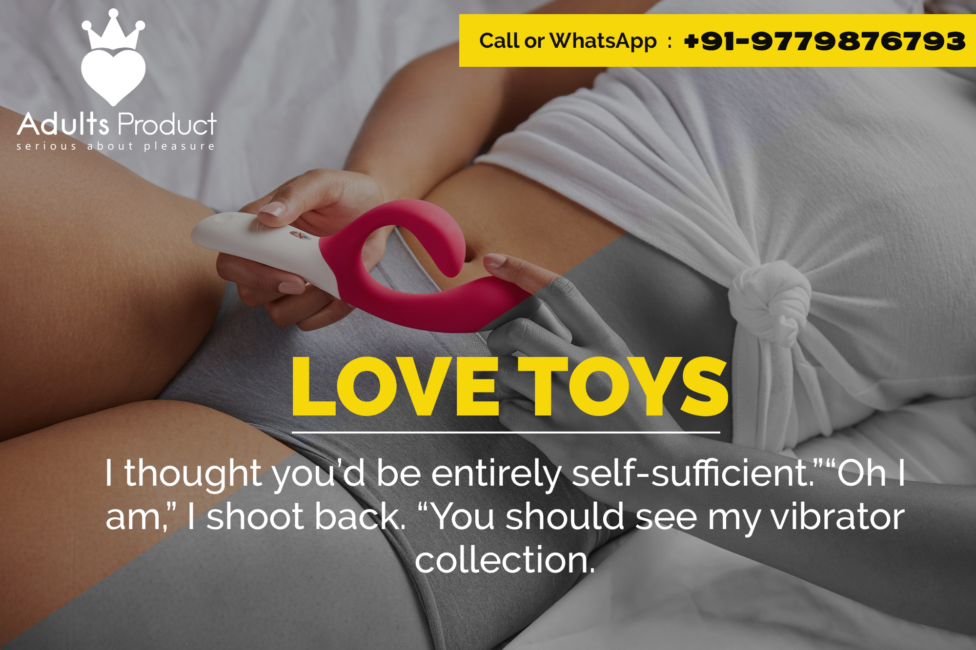 Take the 5 day challenge after purchasing the vibrator! 2