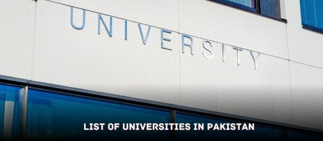 List of universities in Pakistan