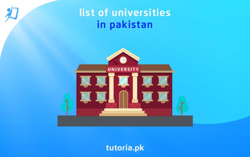List of universities in Pakistan 1
