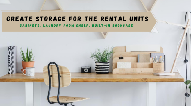 How Landlords Can Create Storage for the Rental Units 1
