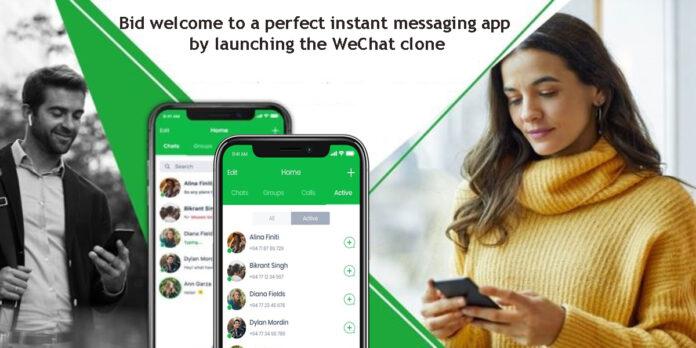 WeChat clone
