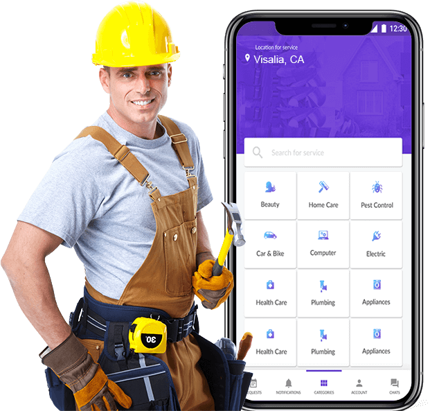 Housejoy clone app development takes care of home repairs and maintenance issues quickly 2